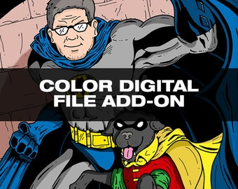 Color Digital Download Add-On for Drawing