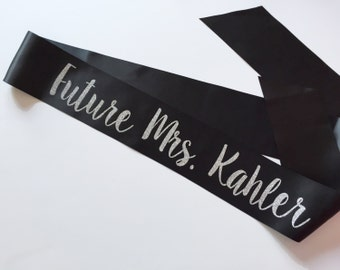 Future MRS Sash Bachelorette | Bridal Shower Party Bride to Be Gift