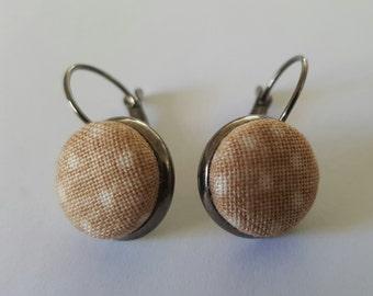 Beautiful Fabric Earrings