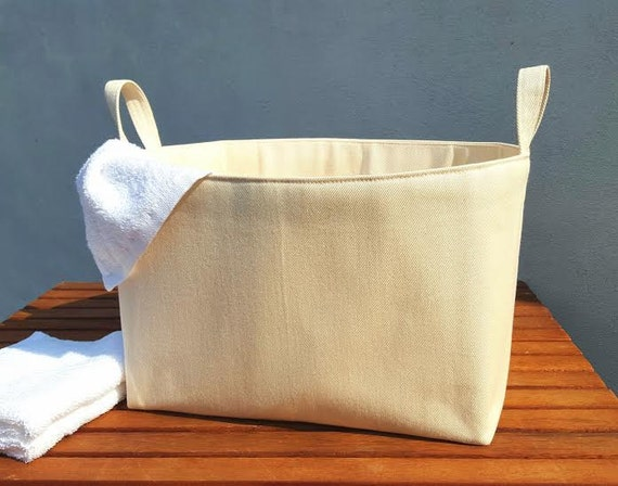 Canvas Laundry Bag Natural Hamper Storage Organiser Extra