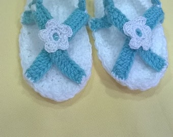 Sandals turquoise