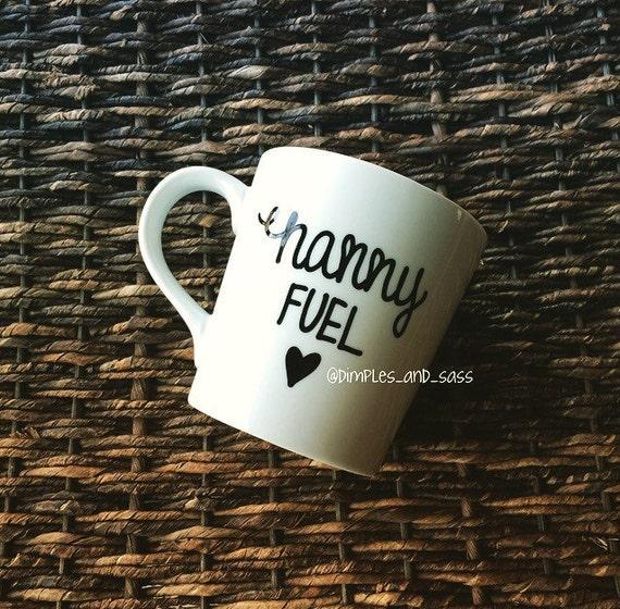 Nanny Fuel Mug Gift For Babysitter Teacher By DimplesAndSass