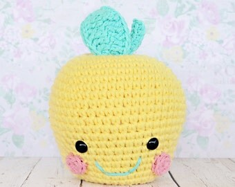 Custom Crochet Apple