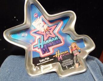 Hannah Montana cake pan by Wilton