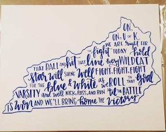 University of Kentucky Fight Song