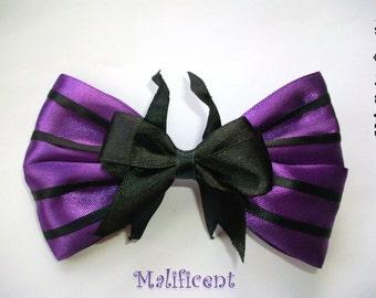 Maleficent - Sleeping Beauty - Disney - Hair Bow - Hair Accessory