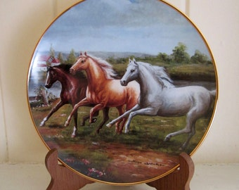 Royal Doulton Horse Plate