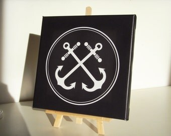 Table stretched canvas anchor - Canvas painting anchor