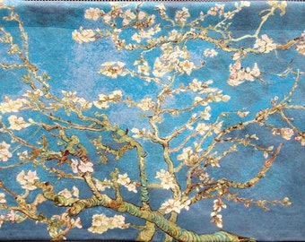 belgian wall tapestry hanging wall decor gobelin Almond Blossoms by Vincent Van Gogh