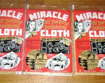 Miracle Cloth Polishing Cloth (lot of 3)