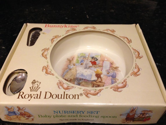 Royal Doulton Baby Gifts Australia : Items similar to royal doulton bunnykins nursery set baby