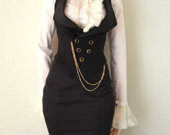 SD_White Ruffle blouse (Iplehouse EID woman)