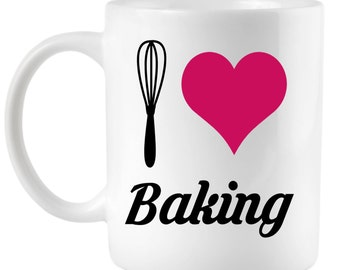 I Love Baking - 15oz Ceramic Coffee Mug