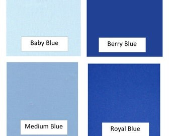 SOLIDS/BLUES - Fabric Options for Your Applique