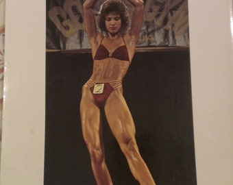 Women of Iron -  The World of Female Bodybuilders by Nik Cohn, Photographs by Jean-Pierre Laffont