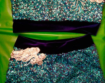 One-of-a-kind Child Jazz Dance Competition Costume