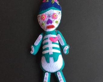 Rosa Sugar Skull Doll