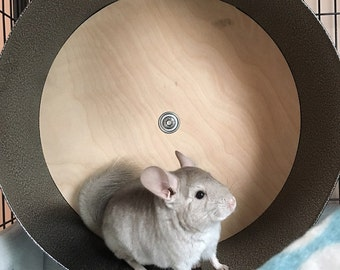 """Chin Spin Chinchilla Exercise Wheel - 15"""" - ***FREE SHIPPING***"""
