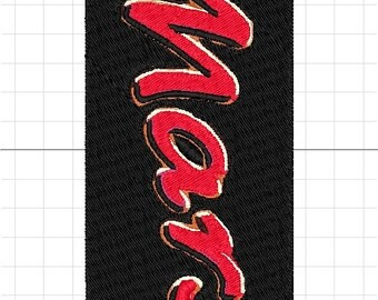 mars machine embroidery logo