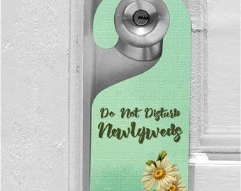 Office Door Hanger - Do Not Disturb Sign - In Session Sign - Door Greeting - Custom Door Hanger - Door Sign with Logo - Monogram Door Hanger