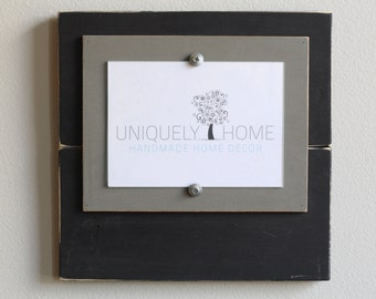 Single 5x7 Distressed Wooden Frame