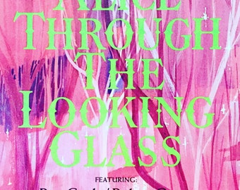 1960's Vintage Vinyl Record ~ Alice Through the Looking Glass (Soundtrack of the Television Special)