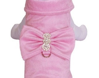 Fleece dog jacket available in many colors