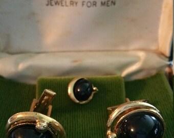 Imperial Jewelry for Men Cufflinks & Tie Tack Set