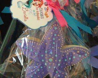 Mermaid Under The Sea Sugar Cookies