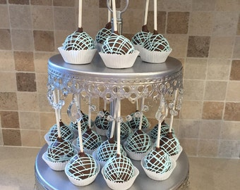 Baby Boy Shower Cake Pops