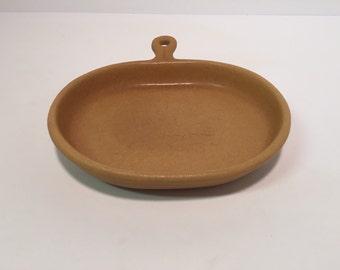 Vintage Bennington Pottery snack plate