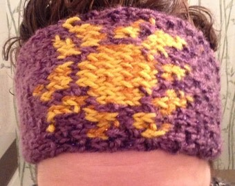 Tangled sun headband