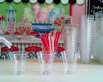 """Cups and Straws for American Girl 18"""" Doll's"""