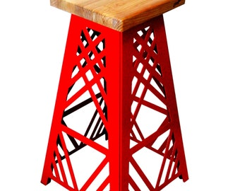 "Metal bar stool ""Merlin"""