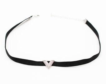 V Choker Necklace