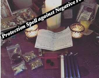Protection Spell Against Negative People Kit