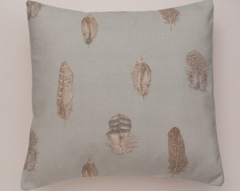 """Duck Egg Blue Feather Traditional Style Decorative Home Decor Pillow Cushion Cover 20"""" x 20"""""""