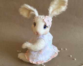 Teddy Bunny / Заяц в технике тедди