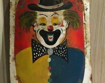 Rare Vintage Circus Paintings from the 30's