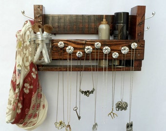 Jewelry Holder, Makeup Organizer, Coat Rack