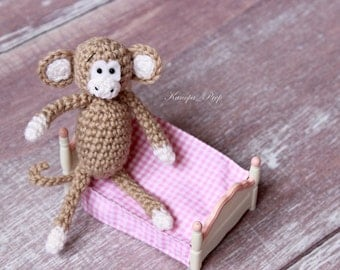 Crochet Pattern Monkey Toy #Crochet Pattern#9