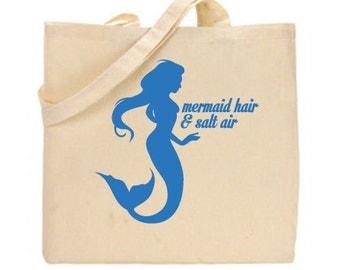 Mermaid beach bag | Etsy