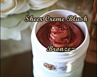Creamy Bronze Sheer Blush~Aloe Vera & Shea Butter Based To Pamper Your Skin~