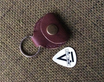 Guitar Pick Case Keychain