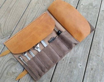 KD Leather Tool Roll