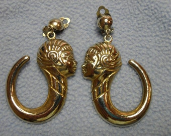 Very Interesting Earrings with Art Deco Design