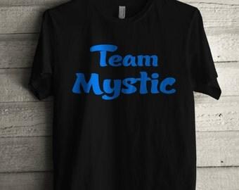 Men's Team Mystic T Shirt Unisex Short Sleeve Phone Game Go Tshirt Gift for Him or Her #1346
