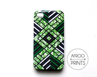 AFROOPRINTS. Phone case Wax African Prints I