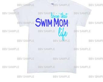 Swim Mom Tee