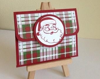 Christmas Handmade Gift Card Holder/Money Holder.
